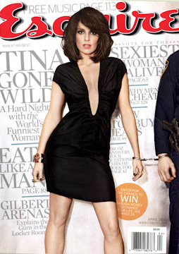 Esquire with Tina Fey